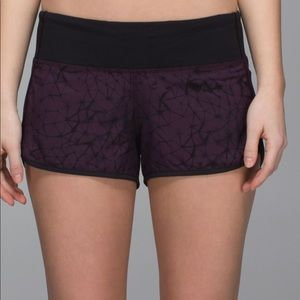 Lululemon Running shorts  marrón and Black  size 4